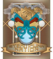 Steampunk Nation by alethiologie