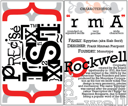Rockwell Typographic History Art by spikerchick17