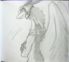 Shiron Sketch by DRVee