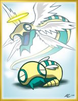POKEDDEX27: Dunsparce by Nanaga