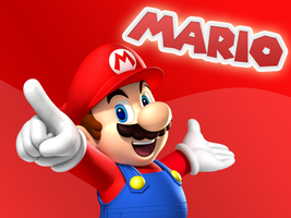 1024x768 Mario Wallpaper by MaxiGamer