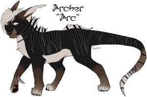 Arc the Kynionychus by TruSpiritWolf