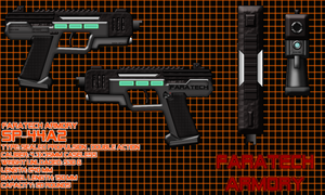 SP-44A2 Pistol Concept by CheesyErwin