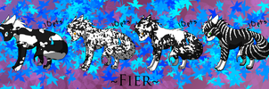 Fier - BW Set :10 pts: by Rythos