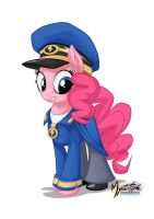 Pinkie Pie as General Flash by mysticalpha