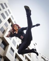 Black Widow Kick! by shanna-jones