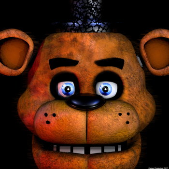 FNAF 1 Icon - Overlay Version Test by GamesProduction