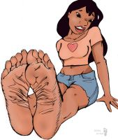 Nani's soles (Lilo and Stitch) by Solesartist