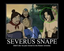 OMG SNAPE LIVES by eleew