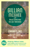 Gillian McGhee Gig Poster for MWA by ShoulderDemon
