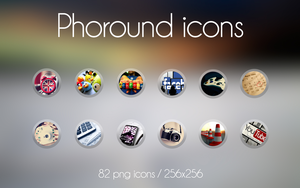 Phoround icon pack by marcco23