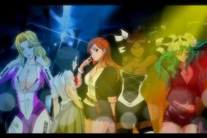 Bleach Party Girls by DrLinuX