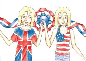 England and America by VersusVII