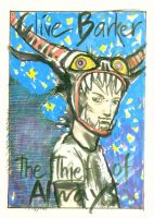 Thief - cover proposal (Harvey) by CliveBarker