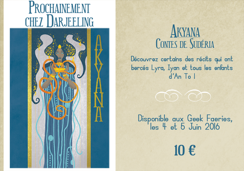 Upcoming Fanzine - AKYANA by KiraMizuno