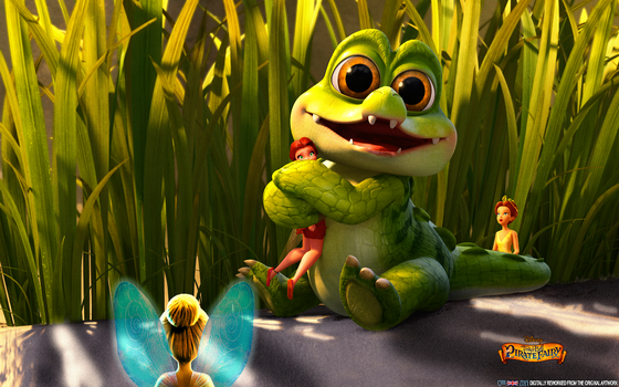 THE PIRATE FAIRY: BABY CROCODILE by CSuk-1T