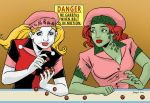 Harley Quinn and Poison Ivy doing I Love Lucy skit by SatyQ
