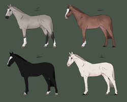Horse Point Adoptables - 1 left! by CrownState
