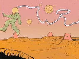 spaceman colored by gzapata