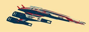 SR2 Normandy by NightRaven1