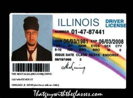 Nc mclovin license by excelladon