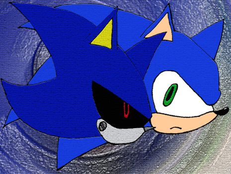 Sonic and Metal Fresco by JHK-Fairmoans