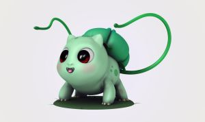 Bulbasaur by M0man
