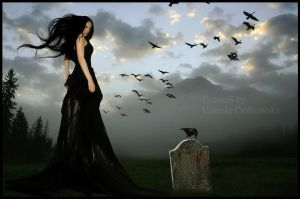 Born In A Burial Gown by PaniFilth
