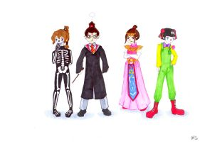 FireNation kids hate halloween by FollowingStars