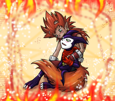 Digimon - Hellfire by Kurozora-Konoi