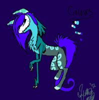 Psyche the Cloven Torch Hound by XRadioactive-FrizzX