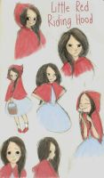 Little Red Riding Hood by marlenakate