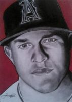 Mike Trout by machinehead11