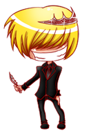 Chibi Suit-Belphegor by Halouette