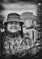 Mimosas seller bw by BobRock99