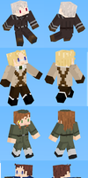 Hetalia Minecraft Skins - Set 2 by doux-merise