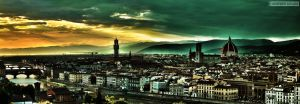 Panorama HDR Firenze by c0rr0si0n