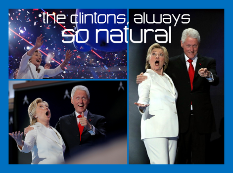 Meet The Clintons, Always So ... Natural by CaciqueCaribe