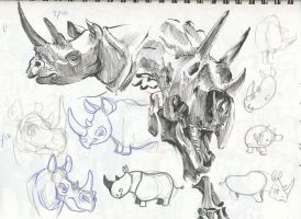 Sketches Mar 2010 10 by FablePaint