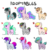 [OPEN] PONY Mixed POINT Adopts by Poneadopties