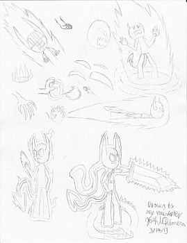Sketches - Power Acquired by YoshiChimera