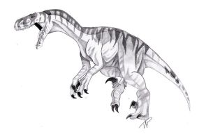 Utahraptor by SpiritWolf517