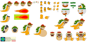 Character Builder-Bowser Koopa by Kphoria