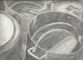 Pots and pans by B-gata