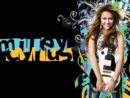 Miley Cyrus Wallpaper by Airborne2182