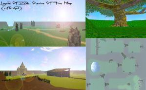 Zelda Ocarina Of Time Map (unfinished) FILES LOST by HoneyHeartStudios