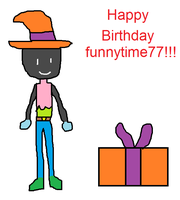 B-Day Gift to funnytime77 by Toongirl18