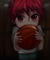 Can I play with you? -Akashi Seijuro by edline02