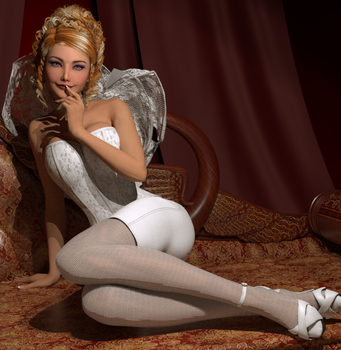 Bride1 by psychicdelica