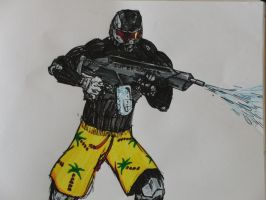 crysis by SmallScaleArtist